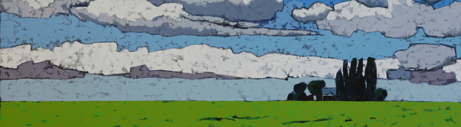 Adri Geelhoed: Hoge lucht / High Sky, detail