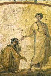 Jesus the Healer, 4th century