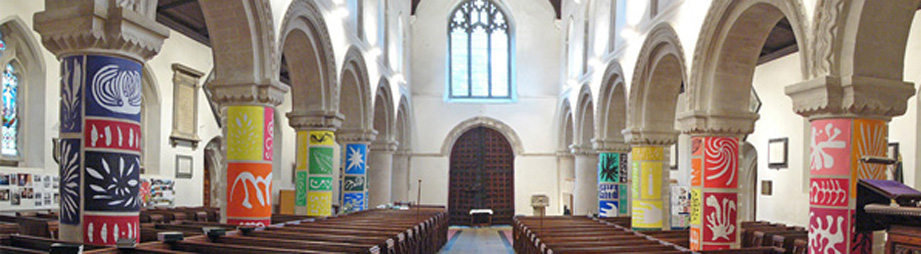 Robert Enoch: St. Mary's Church, Hemel Hempstead (England)