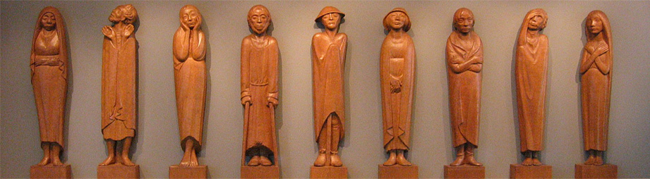 Ernst Barlach: Frieze of the Listeners / Fries der luisterenden, 1930-35